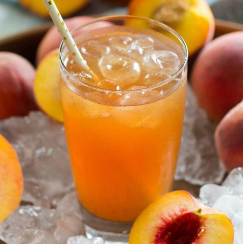 Easy Peach Tea Recipe #drink #healthydrink