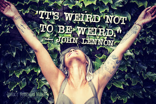 """""""Is it weird in here, or is it just me?"""" --Steven Wright. 21 Quotes About Embracing Your Weirdness. Inspirational quotes about being different. Quotes about being weird. embrace your weirdness quotes embrace your weirdness meaning embracing my weirdness being weird quotes funny weird quotes is being weird attractive how to be weird in a good way weird meaning funny weird quotes weird quotes that make you think quotes about weird friends strange behaviour quotes eccentric personality is being eccentric a good thing it's ok to be weird am I eccentric"""