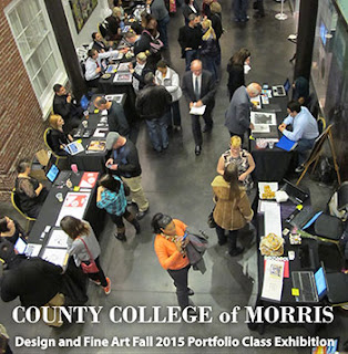 CCM Visual Arts Students Exhibit Their Work at the Morris Museum