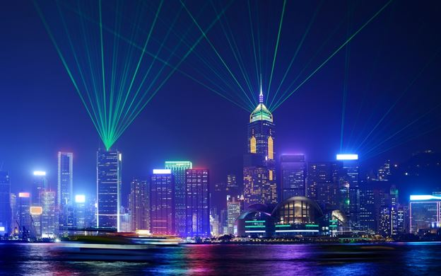 A Symphony of Lights at Victoria Harbor