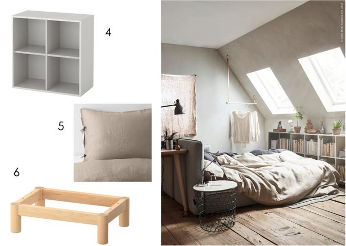 Un pequeño estudio con IKEAHACK y muebles de IKEA