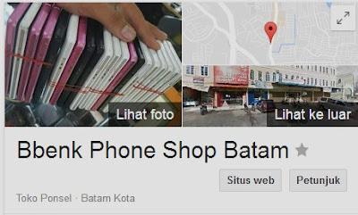 penipu penipuan barang testimoni bbenk phone shop batam