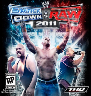 WWE Smackdown! vs RAW 2011 cover