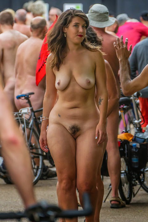 Apologise, but naked bike ride girls has