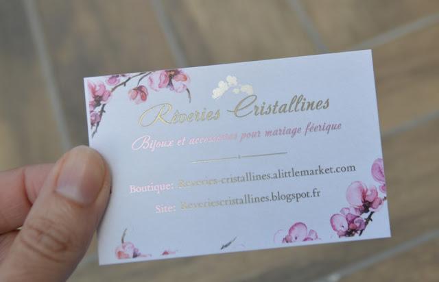 flyers bijoux mariage romantiques