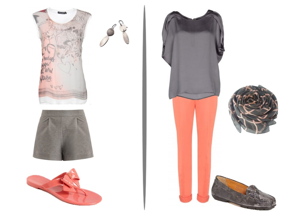 What Color Goes With Peach Pants Shamstore