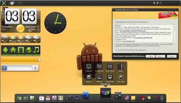 Cara Merubah Tampilan Windows 7 8 8 1 Menjadi Android Kitkat Serbacara Com Technology For Business