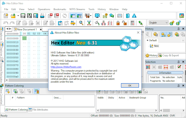Hex Editor Neo Ultimate 6.31