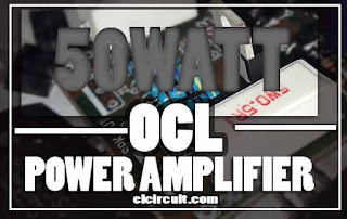 OCL Power Amplifier Circuit Diagram