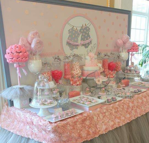 30 Ideas para decorar un Baby Shower de nia | Ms Chicos