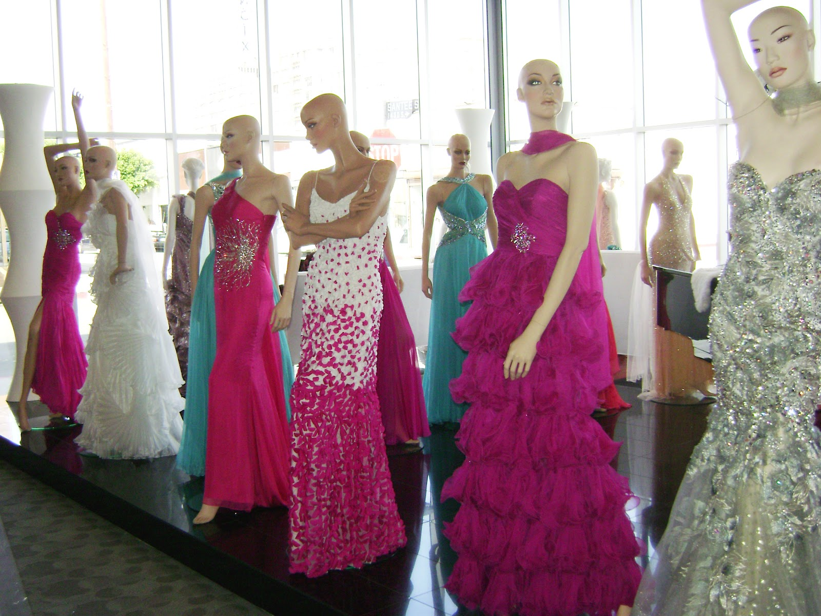 Downtown Los Angeles Fashion District Prom Dresses ...