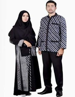 Model Baju Batik Couple Ukuran Besar