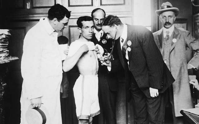 The London Olympics Of 1908: Medical Tests