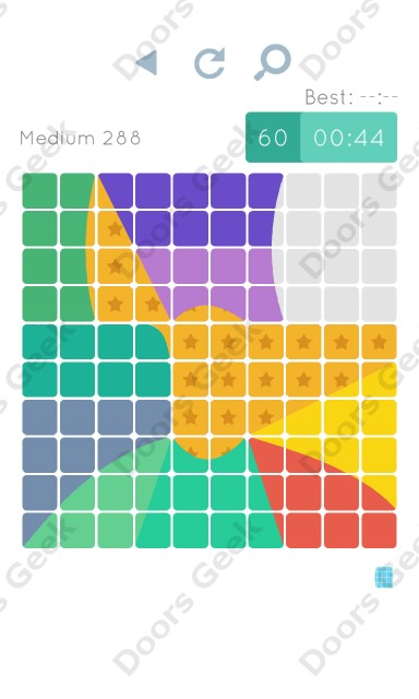 Cheats, Walkthrough for Blocks and Shapes Medium Level 288