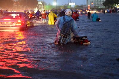 9 đường ở Sài Gòn có thể bị triều cường nhấn chìm
