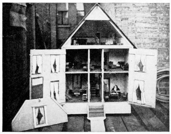 Interior View of Doll-house.