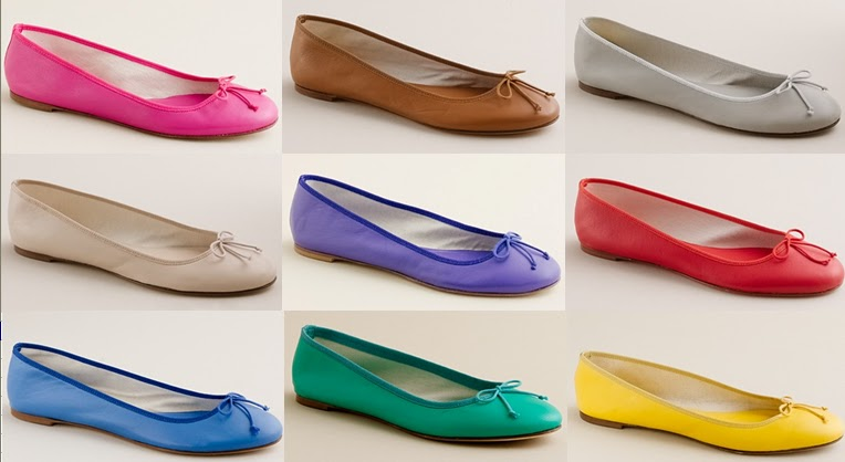 a7819881424 Grace My Closet: J.Crew Classic Ballet Flats in countless colors!