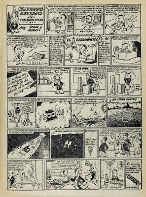 Las fascinantes aventuras de Tallarin Lopez, Pulgarcito nº 37 (1947)