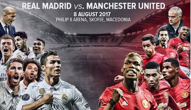 Real Madrid vs. Manchester United | Supercopa de Europa 2017