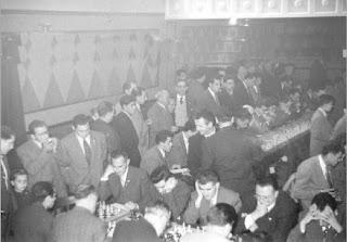 Sala de juego del encuentro de ajedrez La Pobla de Lillet contra La Farga de Bebié