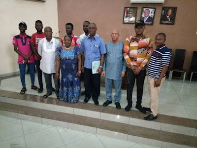 OMPAN members meets with the Rivers State Independent Electoral Commission (RSIEC)