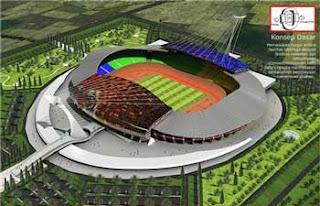 Anggaran Stadion Bukit Lengis Membengkak Drastis jadi 237,97 M