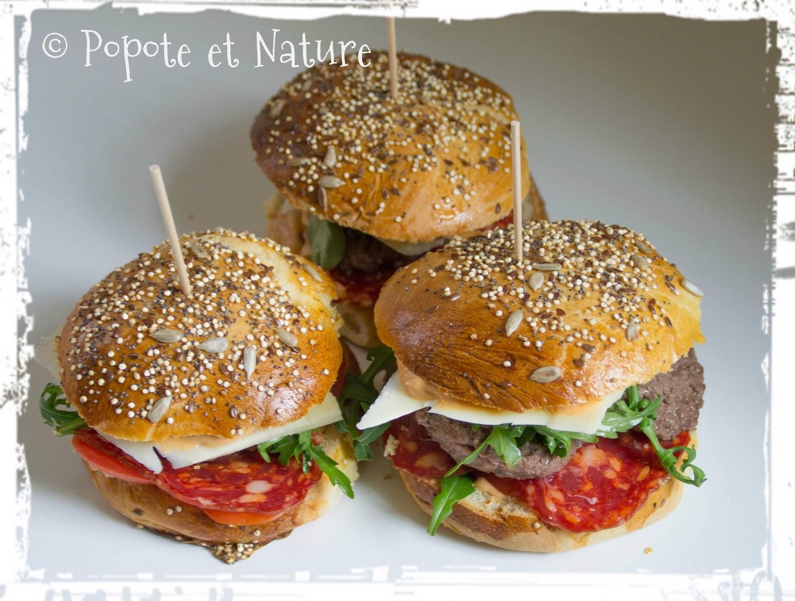 Popote et nature faites vos hamburgers vous m me avec for Faites votre propre maison