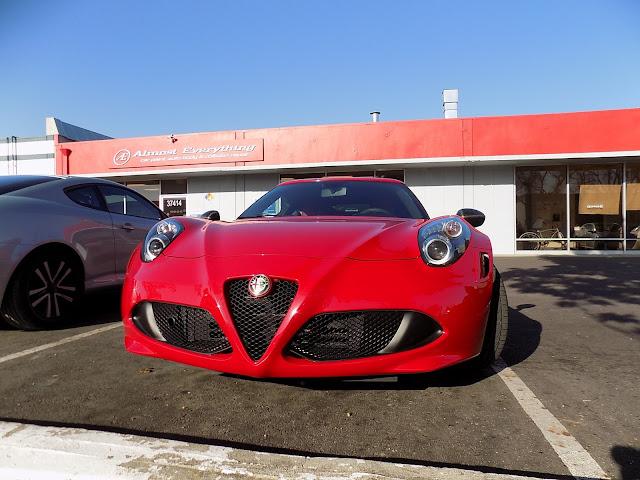 2015 Alfa Romeo 4C--Lithe