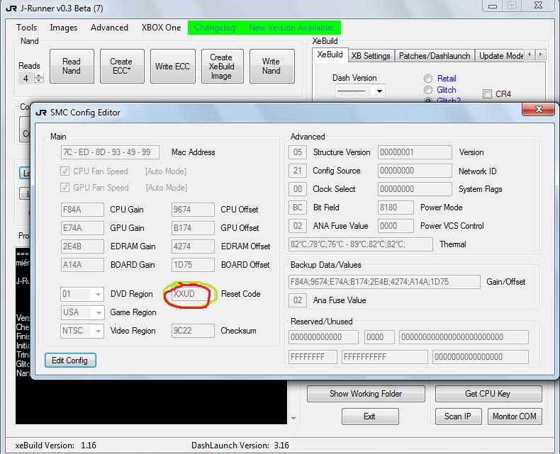 Galvez Mod Consolas: Eliminar Control Parental en X360 con RGH