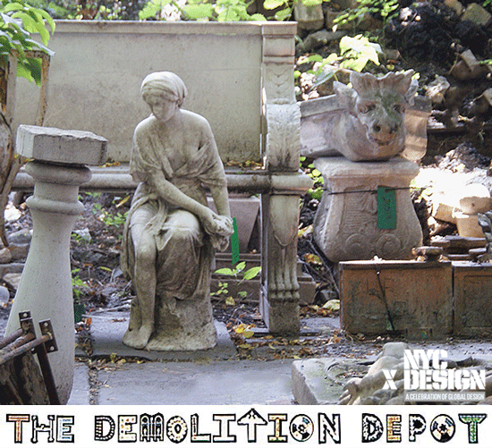 New York Architectural Antiques Tour with NYCxDESIGN & Demolition Depot