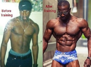 Williams Before Training - Williams during/after Training