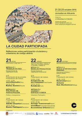http://contsincont.blogspot.com.es/2016/09/jornadas-la-ciudad-participada_29.html