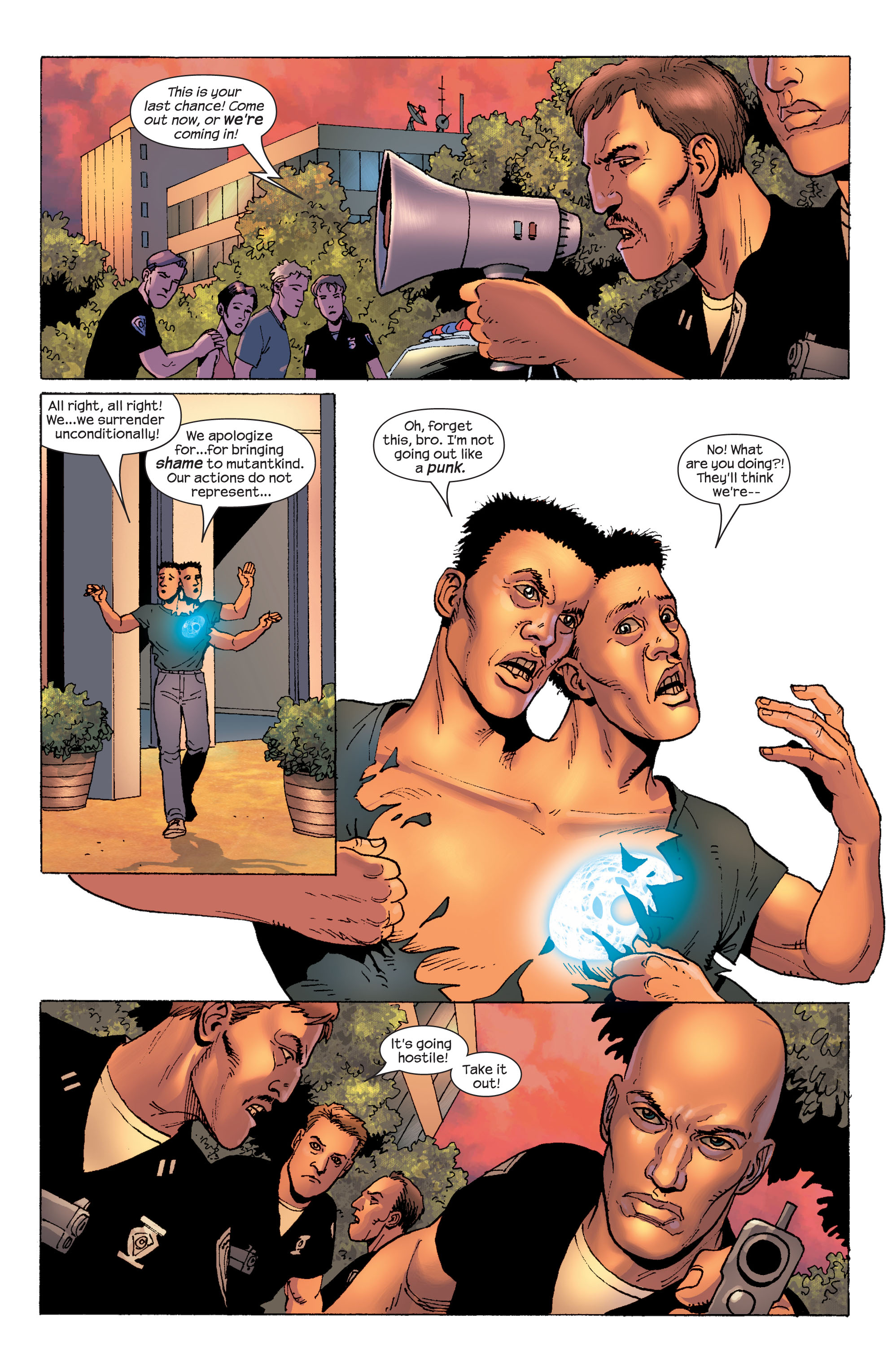 Read online Ultimate X-Men comic -  Issue #58 - 20