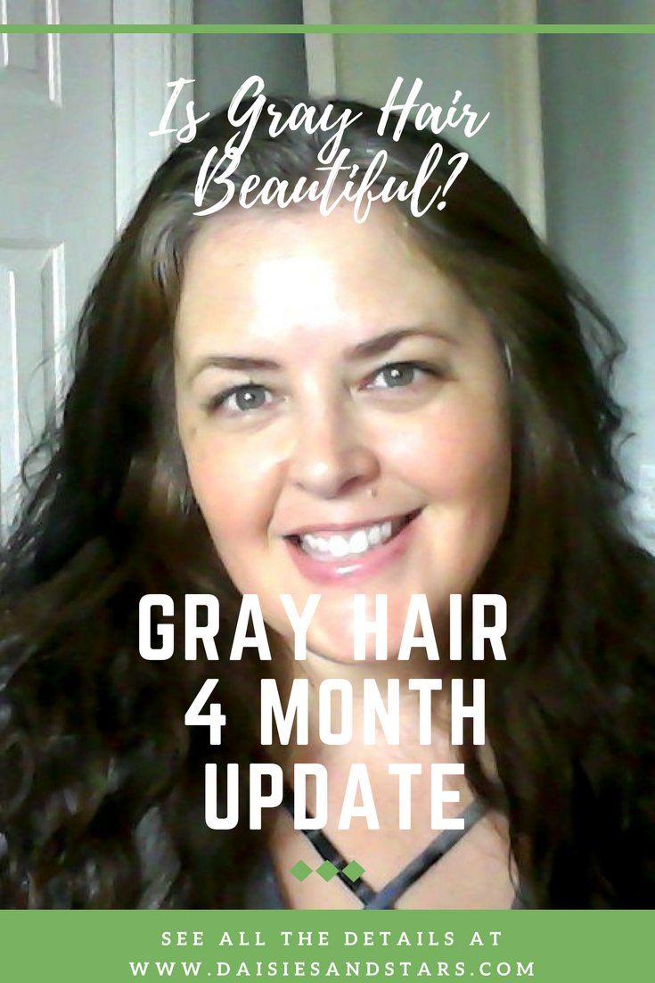 Is Gray Hair Beautiful 4 Months In
