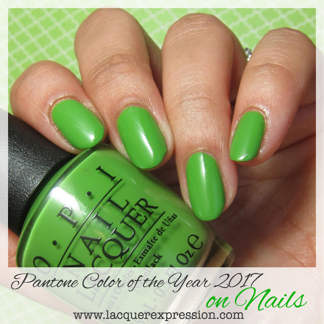greenery pantone color of the year 2017 polish for nails and nail art