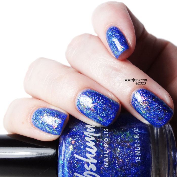 xoxoJen's swatch of KBShimmer: Sol Blue