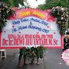 Bunga Papan Pernikahan Dr Ir Ayu Untari