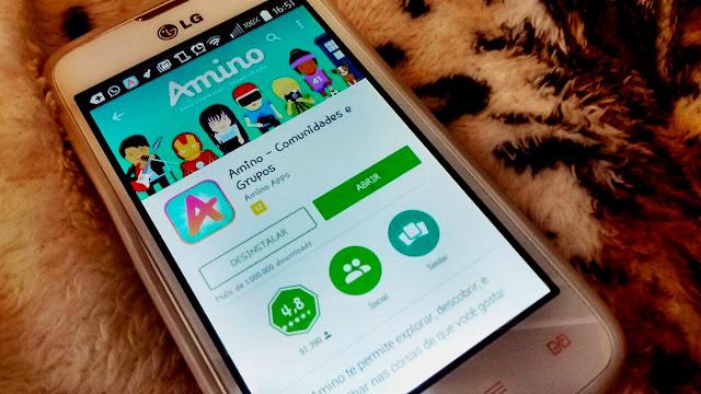 Amino, amini app, blog pensamentos valem ouro, comunidades, como usar o amino