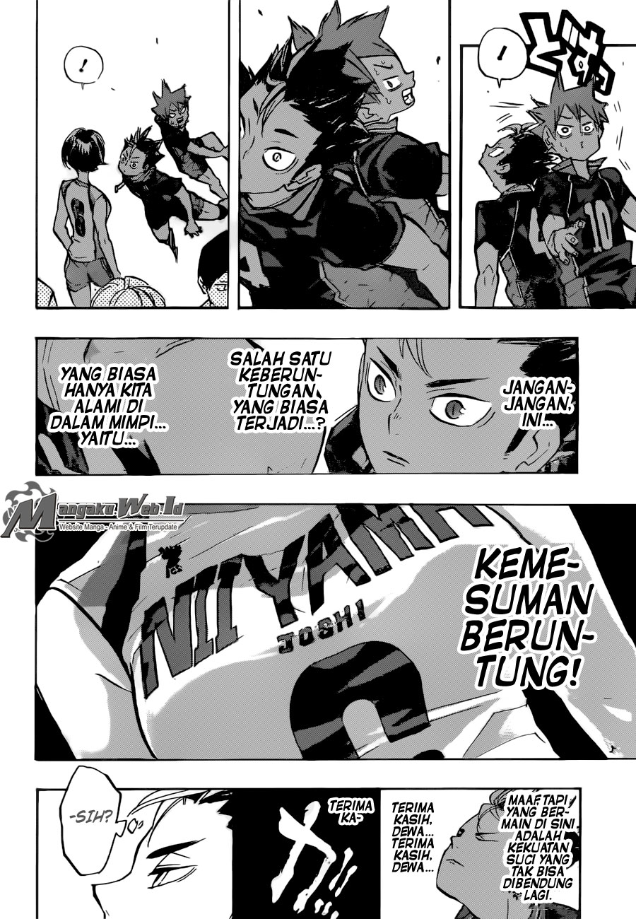 Haikyuu Chapter 231-3
