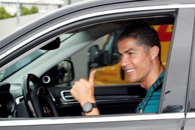 Cristiano Ronaldo Returns To Juventus Training After Two Months
