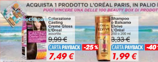 Logo ''Un'Estate di Bellezza'' e con L'Oreal vinci 100 Beauty Box con oltre 30 prodotti