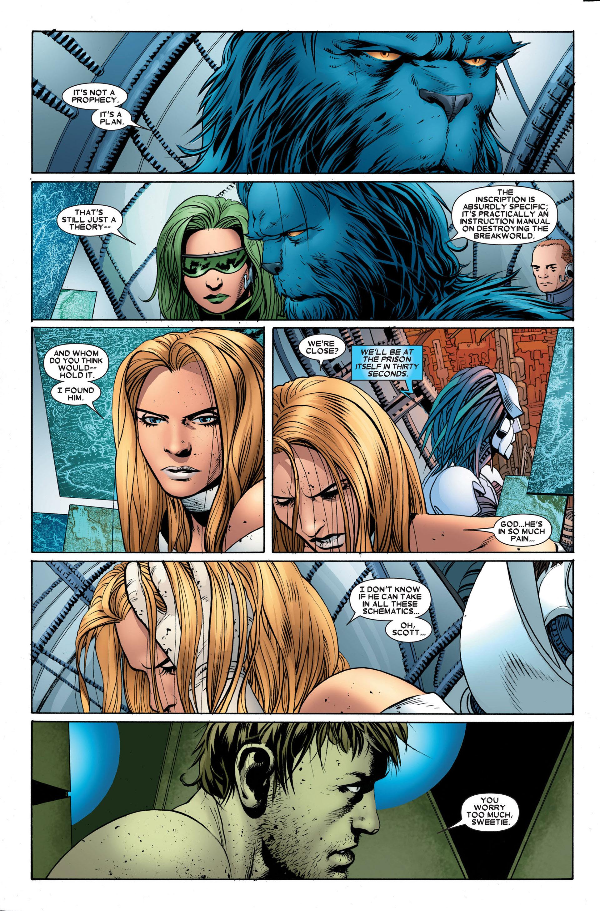 Read online Astonishing X-Men (2004) comic -  Issue #23 - 16