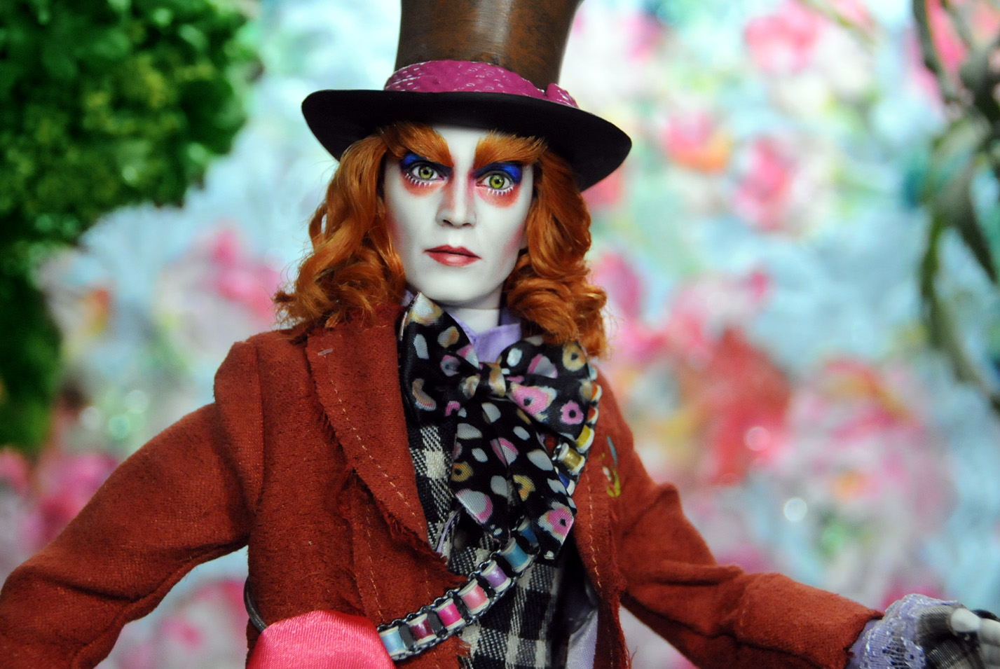 Hatter mad first johnny as playing depp depp