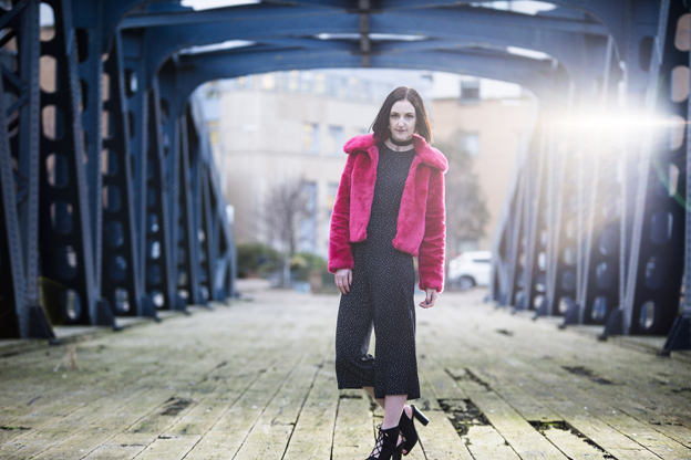 Edinburgh fashion shoot