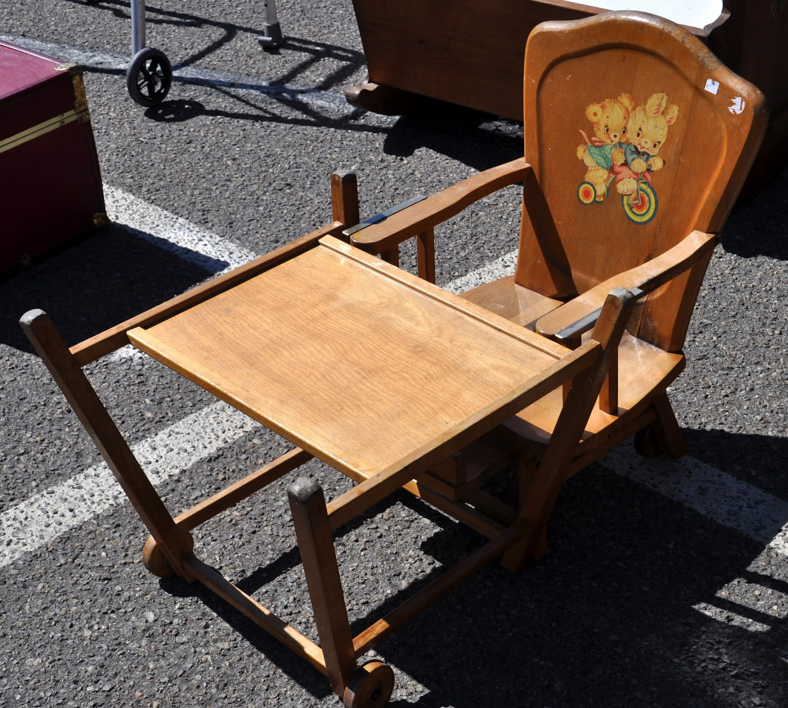 Just A Car Guy I Know It S Odd But This High Chair Has