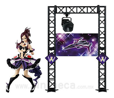Mirage Farina Jenius Walküre (Valkyrie) Ver. with Special Stage Set SQ Figure Macross Delta