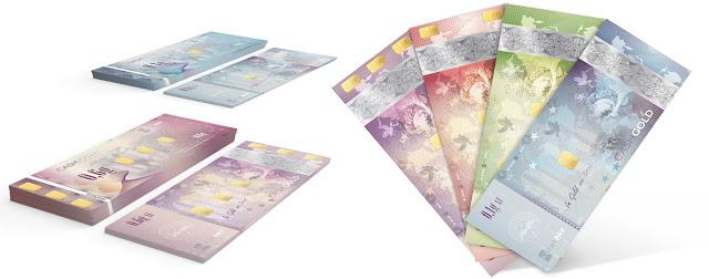 CashGold Karatbars de 0,1 0,2 0,4 y 0,6 gramos
