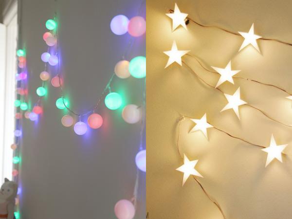 Ideas para transformar luces de navidad