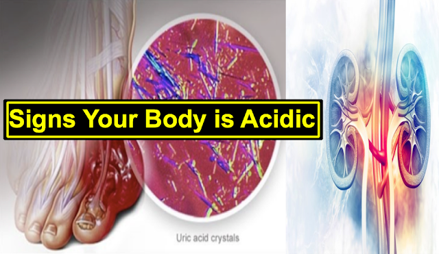 Acidosis: Signs and Symptoms that Your Body is Acidic, Know how to Alkalize It