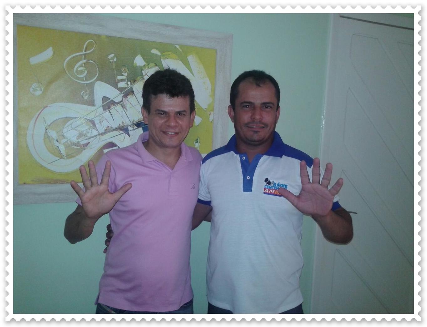 Resultado de imagem para PREFEITO jUNINHO ALVES E GILSON DE SOUZA
